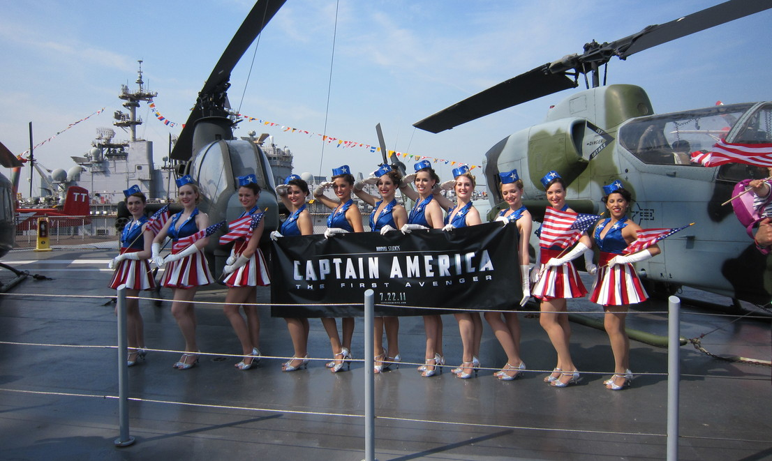 BDA STAFF INVITED TO DANCE AT CAPT AMERICA PREMIERE