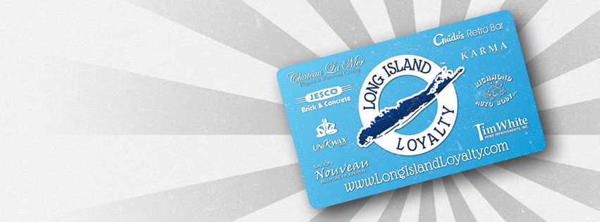 Long islands first small business loyalty card cosmoli long island loyalty was launched in july 2014 as a way to incentify local consumers to shop local and support long island owned businesses the card is free colourmoves