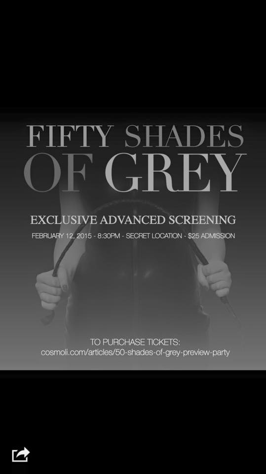 Fifty Shades Of Grey Sold Out Cosmoli