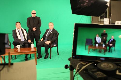 Green Screen, portable green screen, corporate shoot, corporate video