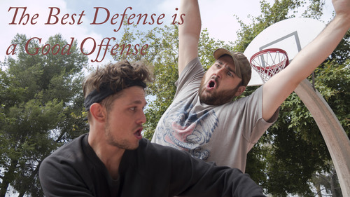 UPP Studios Blog The Best Defense is a Good Offense