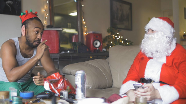 Santa's Out of Town | Sketches | UPP Studios