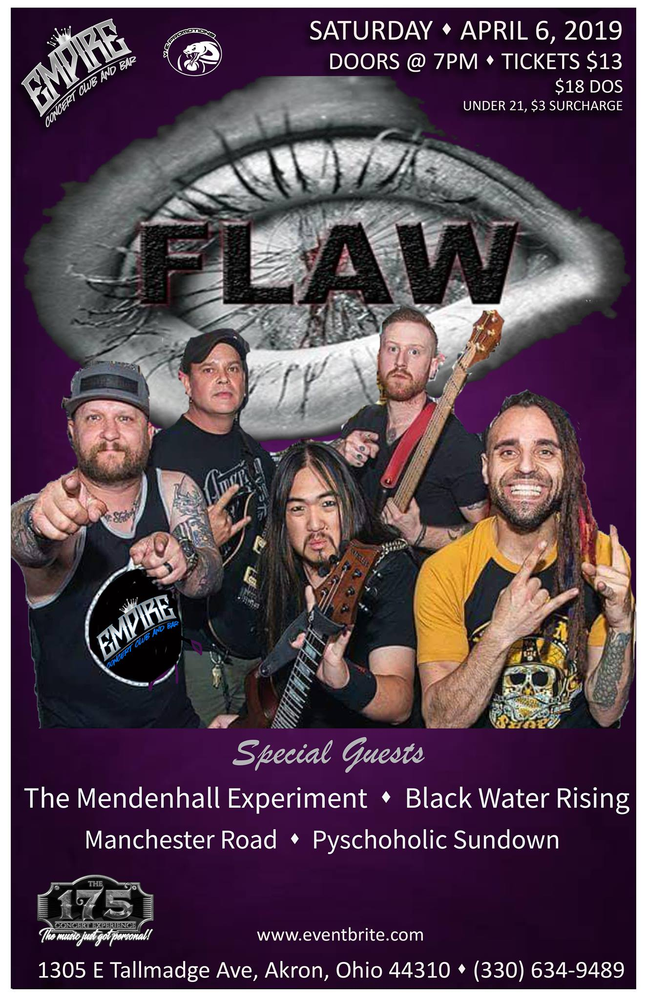 FLAW - A 175 Concert Experience!